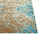 Jaipur Rugs - Hand Knotted Wool and Bamboo Silk Beige and Brown ESK-400 Area Rug Cornershot - RUG1068991