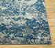 Jaipur Rugs - Hand Knotted Wool and Bamboo Silk Blue ESK-401 Area Rug Cornershot - RUG1068993