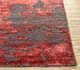 Jaipur Rugs - Hand Knotted Wool and Bamboo Silk Grey and Black ESK-431 Area Rug Cornershot - RUG1064840
