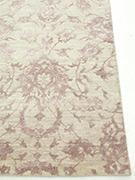Jaipur Rugs - Hand Knotted Wool and Bamboo Silk Ivory ESK-623 Area Rug Cornershot - RUG1057321