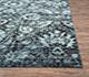 Jaipur Rugs - Hand Knotted Wool and Bamboo Silk Blue ESK-624 Area Rug Cornershot - RUG1057257