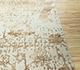 Jaipur Rugs - Hand Knotted Wool and Bamboo Silk Ivory ESK-624 Area Rug Cornershot - RUG1088210