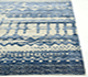 Jaipur Rugs - Hand Knotted Wool and Bamboo Silk Blue ESK-663 Area Rug Cornershot - RUG1062460
