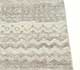 Jaipur Rugs - Hand Knotted Wool and Bamboo Silk Grey and Black ESK-663 Area Rug Cornershot - RUG1053823