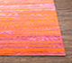 Jaipur Rugs - Hand Knotted Wool and Bamboo Silk Red and Orange ESK-663 Area Rug Cornershot - RUG1070993