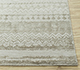Jaipur Rugs - Hand Knotted Wool and Bamboo Silk Ivory ESK-663 Area Rug Cornershot - RUG1096699