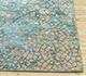 Jaipur Rugs - Hand Knotted Wool and Bamboo Silk Blue ESK-9012 Area Rug Cornershot - RUG1082911