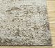 Jaipur Rugs - Hand Knotted Wool and Bamboo Silk Grey and Black ESK-9014 Area Rug Cornershot - RUG1093076