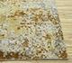 Jaipur Rugs - Hand Knotted Wool and Bamboo Silk Ivory ESK-9014 Area Rug Cornershot - RUG1093671