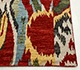 Jaipur Rugs - Hand Knotted Wool Red and Orange LCA-09 Area Rug Cornershot - RUG1054929