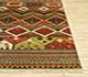 Jaipur Rugs - Hand Knotted Wool Red and Orange LE-20 Area Rug Cornershot - RUG1073004