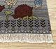 Jaipur Rugs - Hand Knotted Wool Grey and Black LE-48 Area Rug Cornershot - RUG1083958