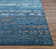Jaipur Rugs - Hand Knotted Wool and Bamboo Silk Blue LES-194 Area Rug Cornershot - RUG1072353