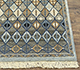 Jaipur Rugs - Hand Knotted Wool and Bamboo Silk Blue LES-212 Area Rug Cornershot - RUG1075320