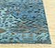 Jaipur Rugs - Hand Knotted Wool and Bamboo Silk Blue LES-219 Area Rug Cornershot - RUG1077890