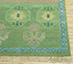 Jaipur Rugs - Hand Knotted Wool and Bamboo Silk Green LES-226 Area Rug Cornershot - RUG1077894