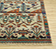 Jaipur Rugs - Hand Knotted Wool and Bamboo Silk Ivory LES-230 Area Rug Cornershot - RUG1077889