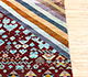 Jaipur Rugs - Hand Knotted Wool and Bamboo Silk Multi LES-248 Area Rug Cornershot - RUG1082984
