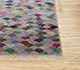 Jaipur Rugs - Hand Knotted Wool and Bamboo Silk Grey and Black LES-293 Area Rug Cornershot - RUG1083996