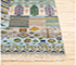 Jaipur Rugs - Hand Knotted Wool and Bamboo Silk Blue LES-309 Area Rug Cornershot - RUG1085878