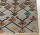 Jaipur Rugs - Hand Knotted Wool and Bamboo Silk Ivory LES-411 Area Rug Cornershot - RUG1092468