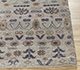 Jaipur Rugs - Hand Knotted Wool and Bamboo Silk Grey and Black LES-421 Area Rug Cornershot - RUG1092472