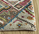 Jaipur Rugs - Hand Knotted Wool and Bamboo Silk Ivory LES-489 Area Rug Cornershot - RUG1093561