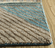 Jaipur Rugs - Hand Knotted Wool and Bamboo Silk Blue LES-503 Area Rug Cornershot - RUG1093916