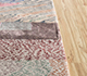 Jaipur Rugs - Hand Knotted Wool and Bamboo Silk Ivory LES-676 Area Rug Cornershot - RUG1105905