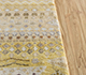 Jaipur Rugs - Hand Knotted Wool and Bamboo Silk Gold LES-747 Area Rug Cornershot - RUG1110732
