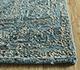 Jaipur Rugs - Hand Knotted Wool and Silk Blue LRS-05 Area Rug Cornershot - RUG1090212