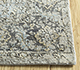 Jaipur Rugs - Hand Knotted Wool and Silk Grey and Black LRS-06 Area Rug Cornershot - RUG1098084