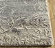 Jaipur Rugs - Hand Knotted Wool and Silk Grey and Black LRS-13 Area Rug Cornershot - RUG1090081