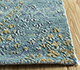 Jaipur Rugs - Hand Knotted Wool and Silk Blue LRS-14 Area Rug Cornershot - RUG1097513