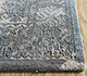 Jaipur Rugs - Hand Knotted Wool and Silk Grey and Black LRS-15 Area Rug Cornershot - RUG1095960