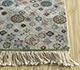 Jaipur Rugs - Hand Knotted Silk Grey and Black LSL-309 Area Rug Cornershot - RUG1092463