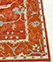 Jaipur Rugs - Hand Knotted Wool Red and Orange LSW-02 Area Rug Cornershot - RUG1059443