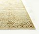 Jaipur Rugs - Hand Knotted Wool and Silk Beige and Brown NE-2348 Area Rug Cornershot - RUG1049834