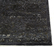 Jaipur Rugs - Hand Knotted Wool and Silk Grey and Black NE-2349 Area Rug Cornershot - RUG1079974