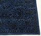 Jaipur Rugs - Hand Knotted Wool and Silk Blue NE-2349 Area Rug Cornershot - RUG1056048