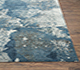Jaipur Rugs - Hand Knotted Wool and Silk Blue NMS-201 Area Rug Cornershot - RUG1083894