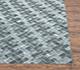 Jaipur Rugs - Flat Weaves Viscose Grey and Black PDBS-09 Area Rug Cornershot - RUG1072751