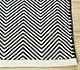 Jaipur Rugs - Flat Weave Cotton Grey and Black PDCT-124 Area Rug Cornershot - RUG1091618