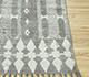 Jaipur Rugs - Flat Weave Cotton Grey and Black PDCT-130 Area Rug Cornershot - RUG1091624
