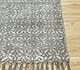 Jaipur Rugs - Flat Weave Cotton Blue PDCT-131 Area Rug Cornershot - RUG1091625