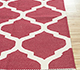 Jaipur Rugs - Flat Weave Cotton Red and Orange PDCT-59 Area Rug Cornershot - RUG1091470