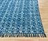 Jaipur Rugs - Flat Weave Cotton Blue PDCT-96 Area Rug Cornershot - RUG1086748