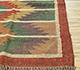 Jaipur Rugs - Flat Weave Jute Red and Orange PDJT-161 Area Rug Cornershot - RUG1107018
