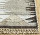 Jaipur Rugs - Flat Weave Wool and Viscose Beige and Brown PDWV-48 Area Rug Cornershot - RUG1098509