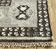 Jaipur Rugs - Flat Weave Wool and Viscose Beige and Brown PDWV-78 Area Rug Cornershot - RUG1098539